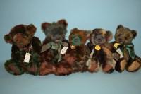 Lot 71 - Charlie Bears: Eden, signed; Whatsit;...