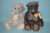 Lot 73 - Charlie Bears: Grandpa and Grandma; with...