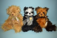 Lot 74 - Charlie Bears: Charlotte; Quentin; and Noodle;...