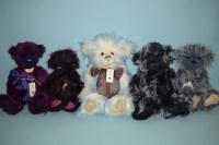 Lot 75 - Charlie Bears: Celest; Inca; Luna; Firecracker;...