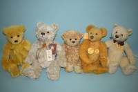 Lot 77 - Charlie Bears: Forever; Always; Melody; James;...