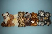Lot 80 - Charlie Bears: Scarlet; Alice; Niamgh; Theo;...