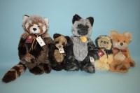 Lot 87 - Charlie Bears: Roxie; Fernando; Franklin;...