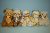 Lot 89 - Charlie Bears: Savoury Pudding; Whoopsie Daisy;...