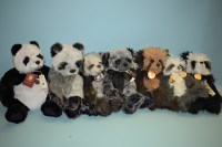 Lot 90-Charlie Bears: Sweetheart; Domino, signed ''The...