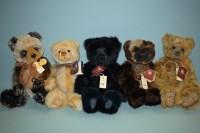 Lot 92 - Charlie Bears: Manfred; Sonny; Evermore;...