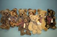 Lot 94-Charlie Bears: Tobias; Julie; Mary; Tigga; Corey; ...