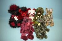 Lot 95 - Charlie Bears: Red Liquorice; Chuck; Candy...