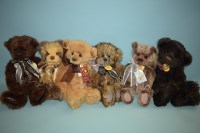 Lot 97 - Charlie Bears: Xavier; Holly; Secrets;...