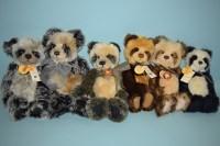 Lot 98 - Charlie Bears: Higgins; Taylor; Nicola; Orlagh;...