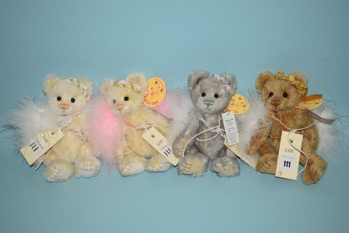 Lot 111-Charlie Bears: Minimo Collection, Sugar Lump;...